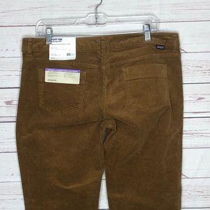 Pataginia Womens Straight Corduroy Pants 14 short